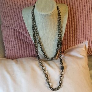 Chloe + Isabel Tresors Chain and Pave set